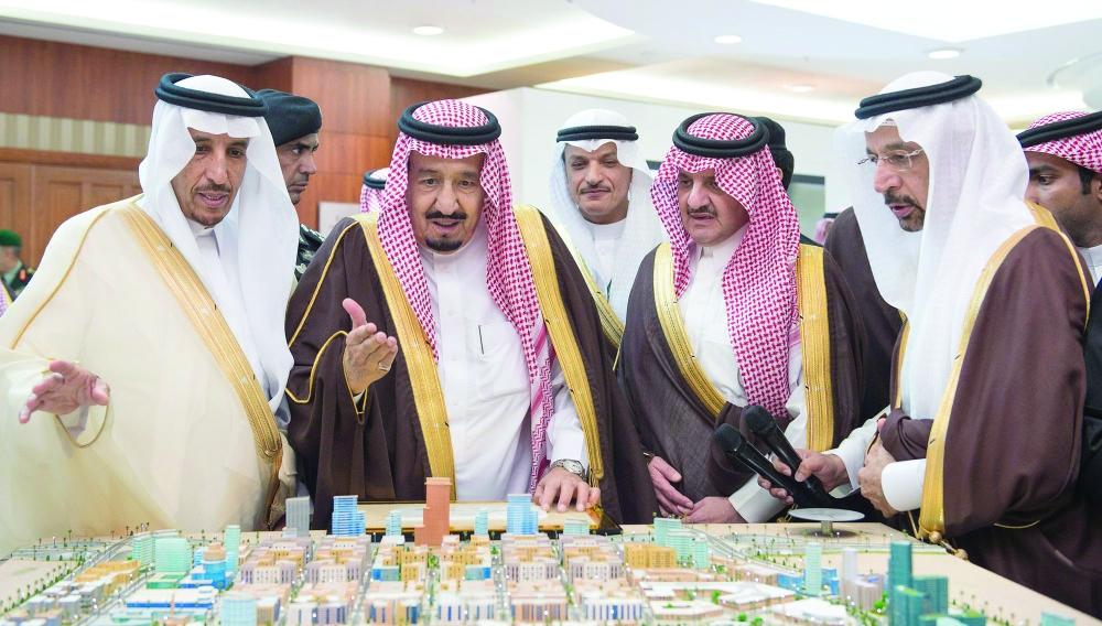 صحيفة مكة :: الملك سلمان يطلق فصلا تاريخيا جديدا في صناعة التنمية باستثمارات 216 مليارا