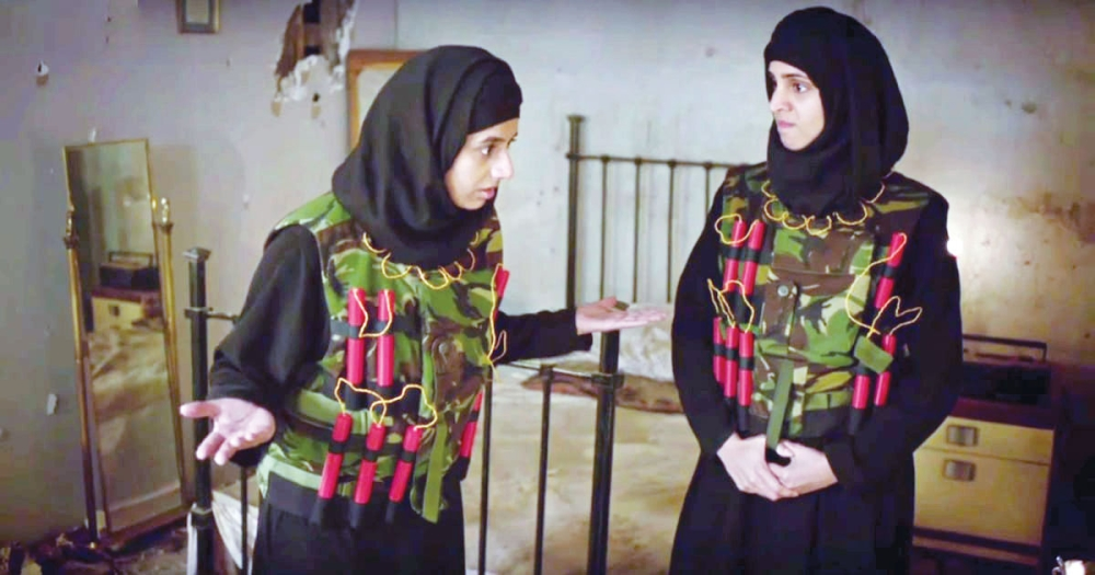 صحيفة مكة :: مقطع ساخر لزوجات داعش يشعل جدلا في بريطانيا