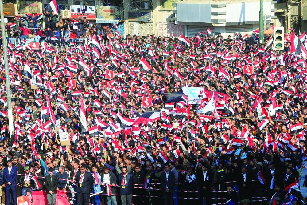 العراق يتعهد بالنأي عن التوتر الأمريكي الإيراني - صحيفة مكة