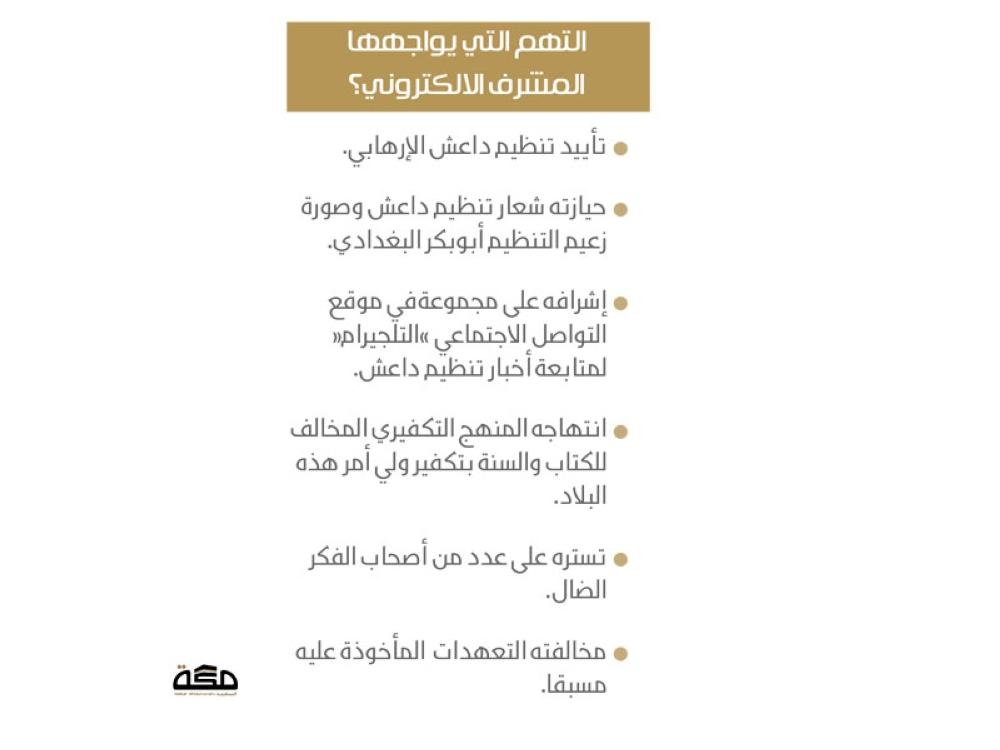 محاكمة مشرف قروب «تليجرام» مختص بأخبار داعش - صحيفة مكة