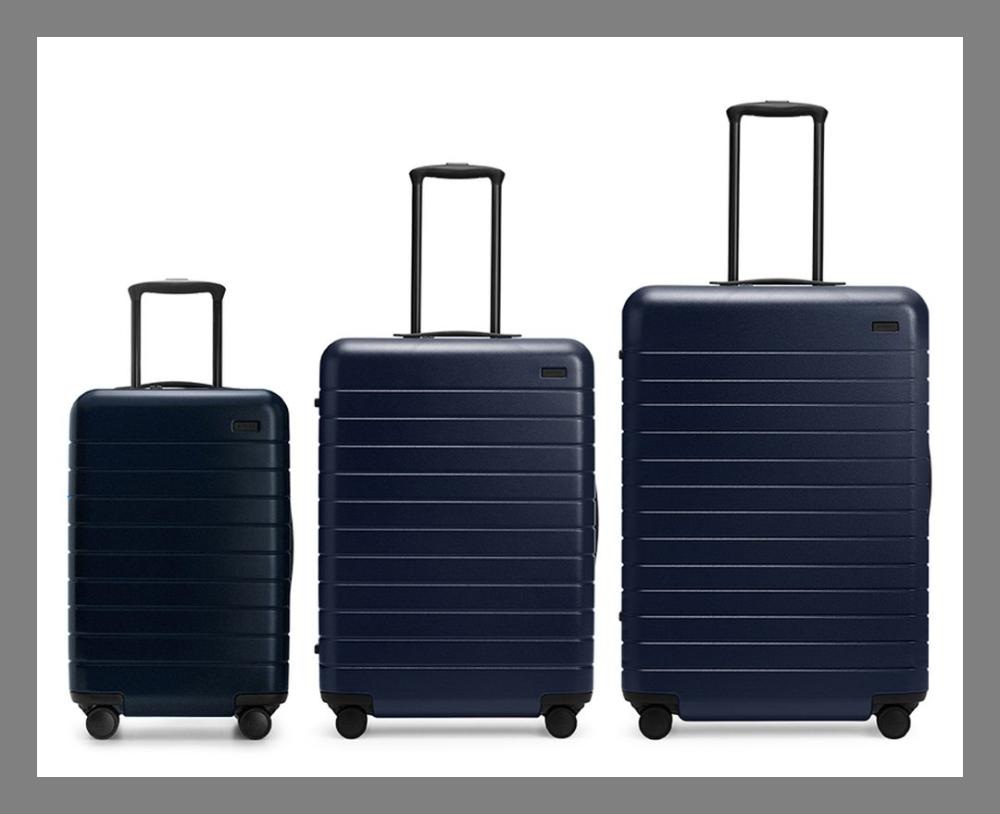 19d0a7f0d1b9c 8 مجموعة حقائب للسفر  متعددة الأحجام للتناسب مع مدة وحاجة المسافر.