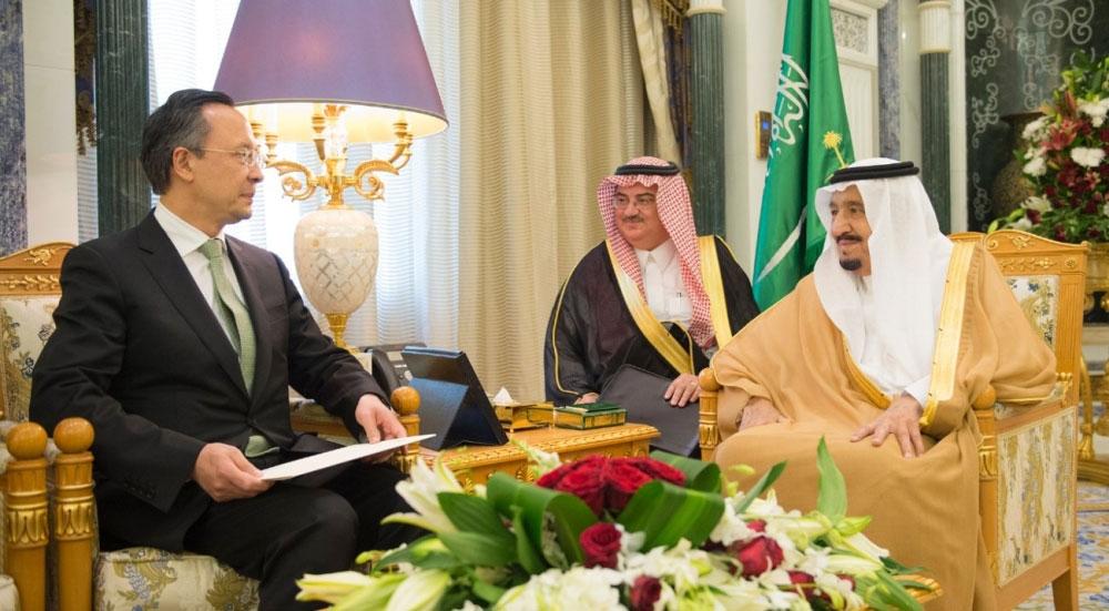 الملك سلمان يتسلم دعوة رئيس كازاخستان للمشاركة في قمة منظمة التعاون الإسلامي - صحيفة مكة