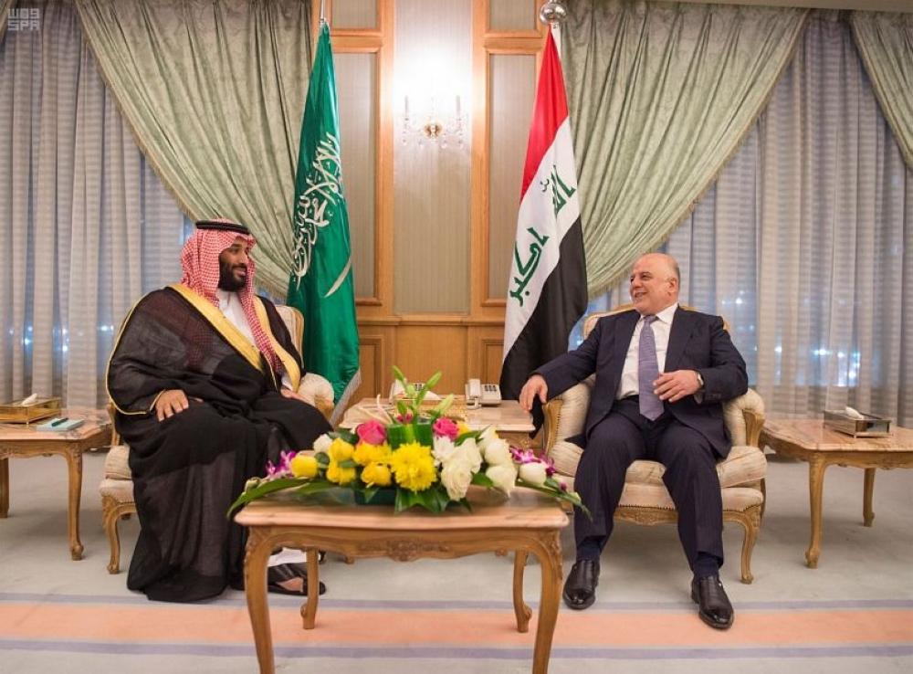 ولي ولي العهد يلتقي رئيس الوزراء بجمهورية العراق - صحيفة مكة