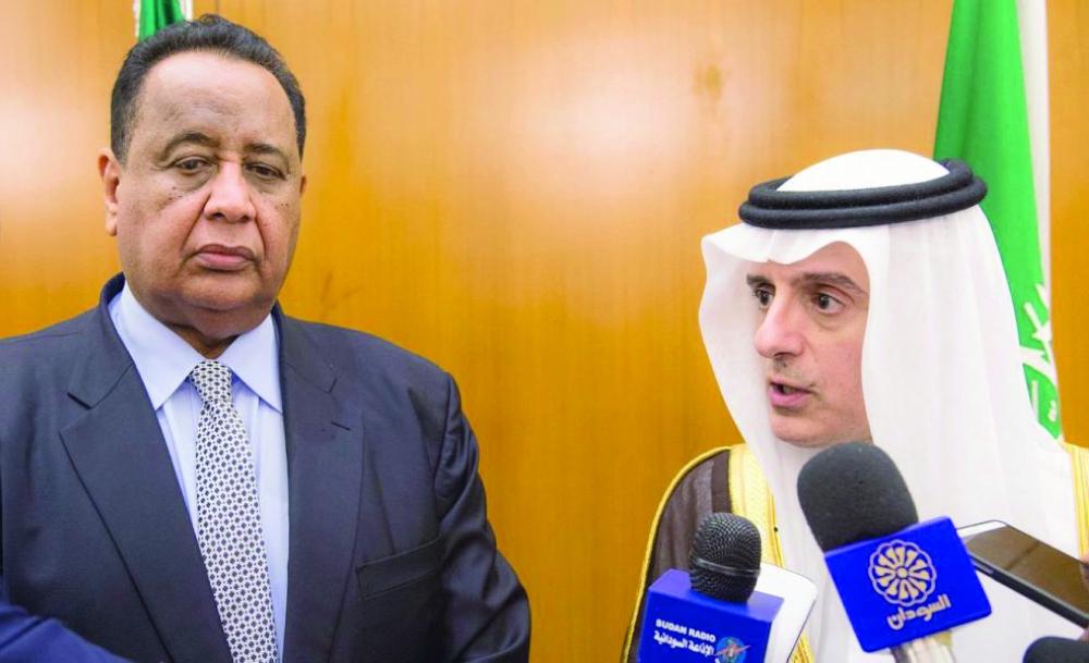 الجبير: جهود السعودية مستمرة  لرفع العقوبات عن السودان - صحيفة مكة