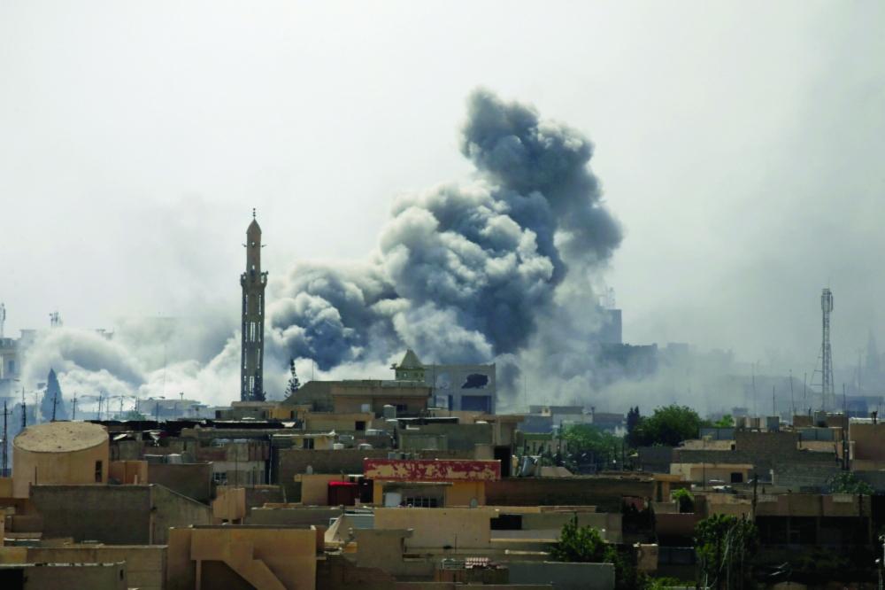 القوات العراقية تستعيد قرية جنوب الموصل من داعش - صحيفة مكة