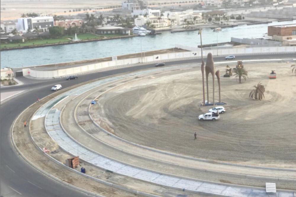 Camel Roundabout دوار الجمال أبحر 7