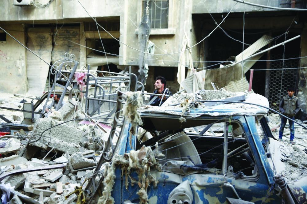 مطالب أممية بتأمين ممر آمن لخروج  الحالات الإنسانية من شرق دمشق - صحيفة مكة