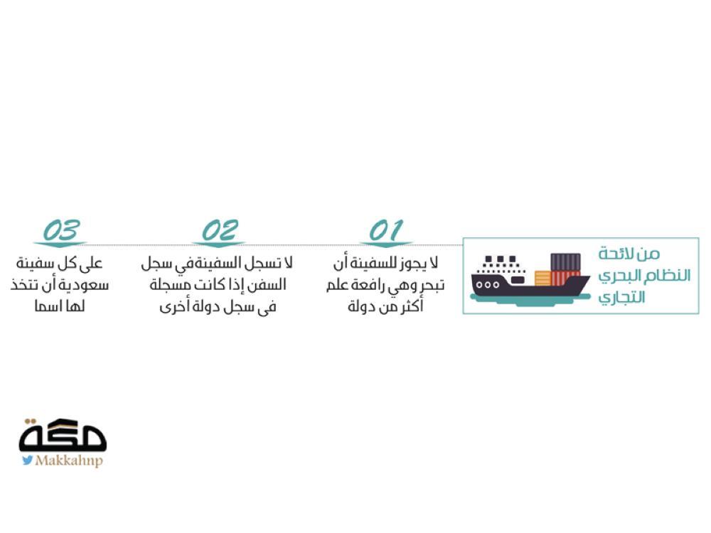 إلزام السفن السعودية برفع علم المملكة صحيفة مكة