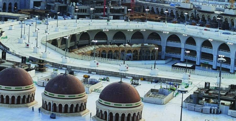 جسور مشاة لربط التوسعة الثالثة بالمطاف صحيفة مكة